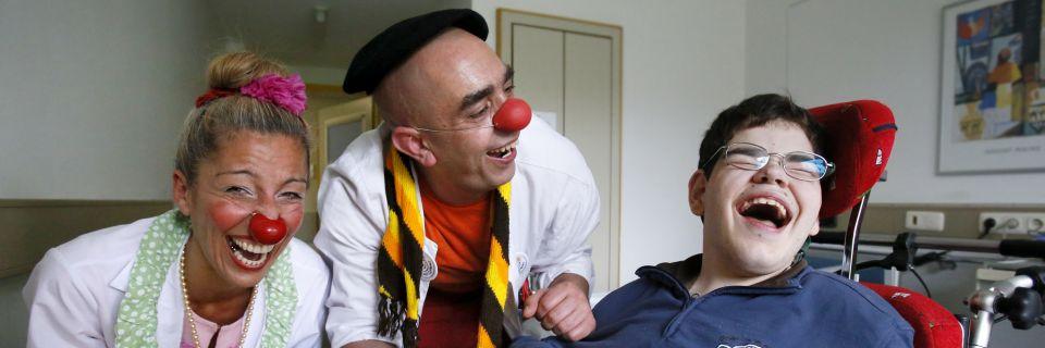 Moodbild Lachen als Therapie
